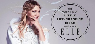 elle morning of life changing ideas image