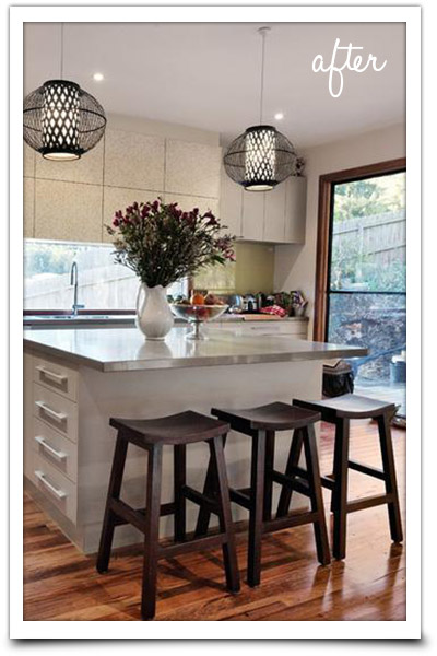 Clean and tidy kitchen bench