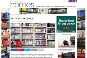 reclaim your garage article ninemsn