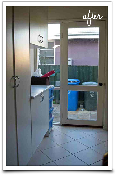 Laundry storage organisation