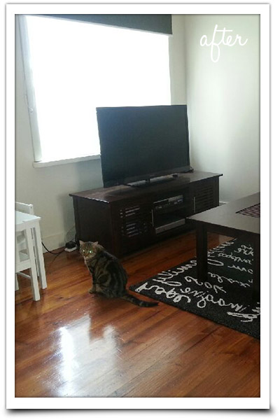 Clean lounge area
