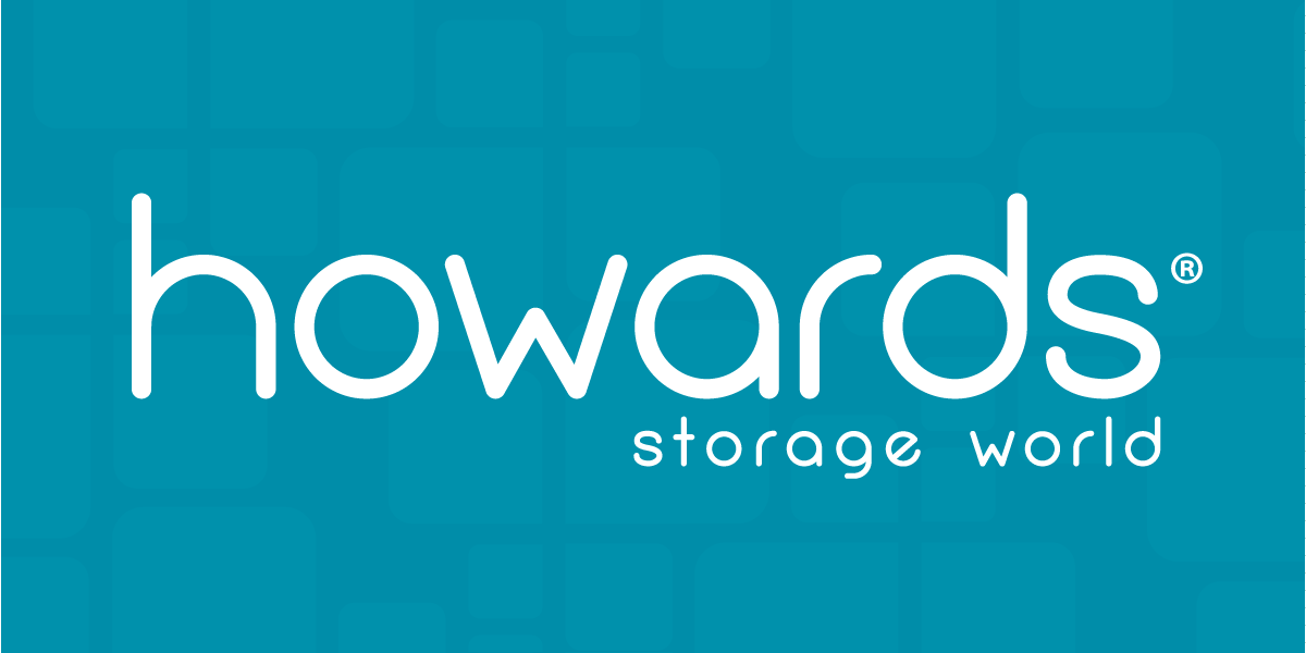 howards storage world logo turquoise