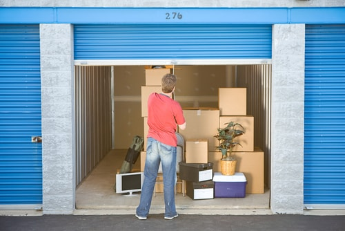 downsizing home avoid offsite storage area