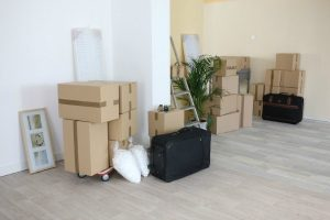 cutting clutter moving boxes