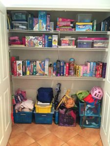 small space storage kids
